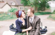Fun and classic engagement shoot styled by Kate Cullen, photography by Bowtie and Belle Photography