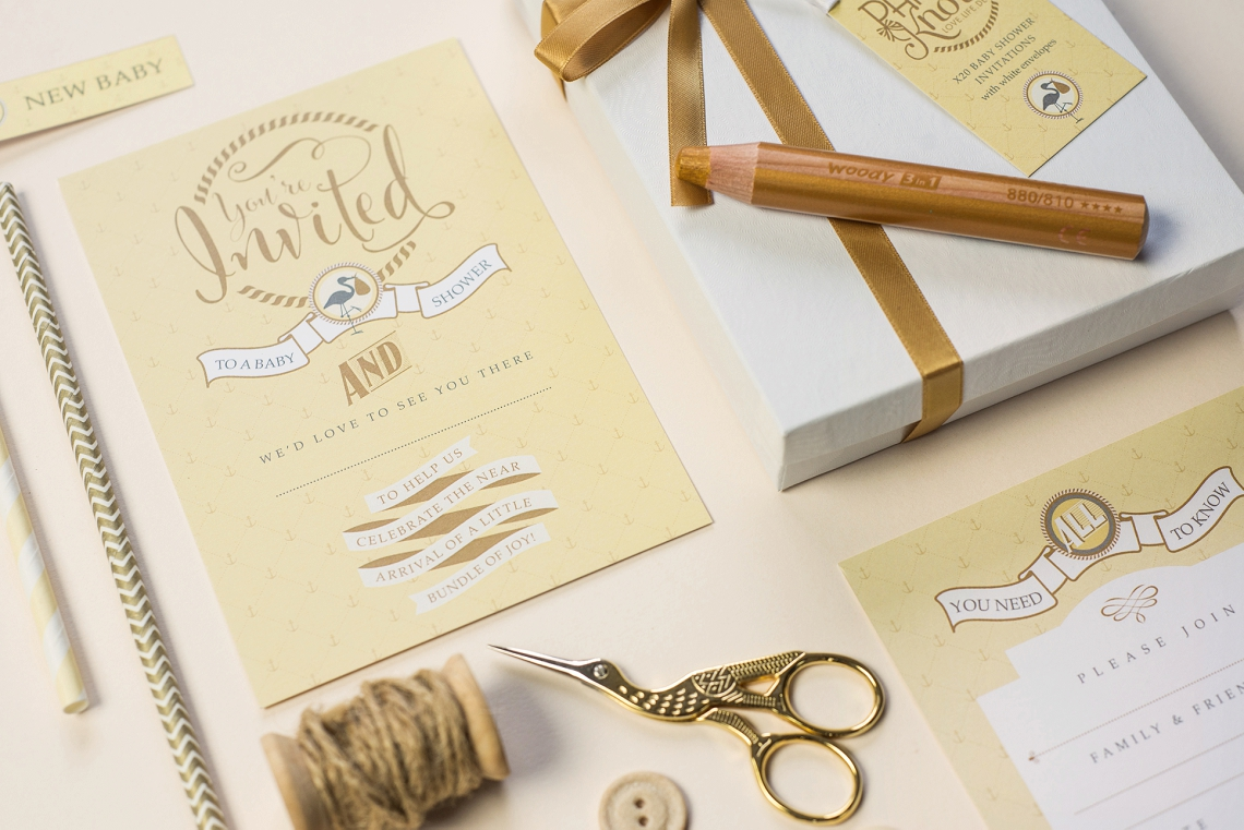Paperknots baby shower invites giveaway