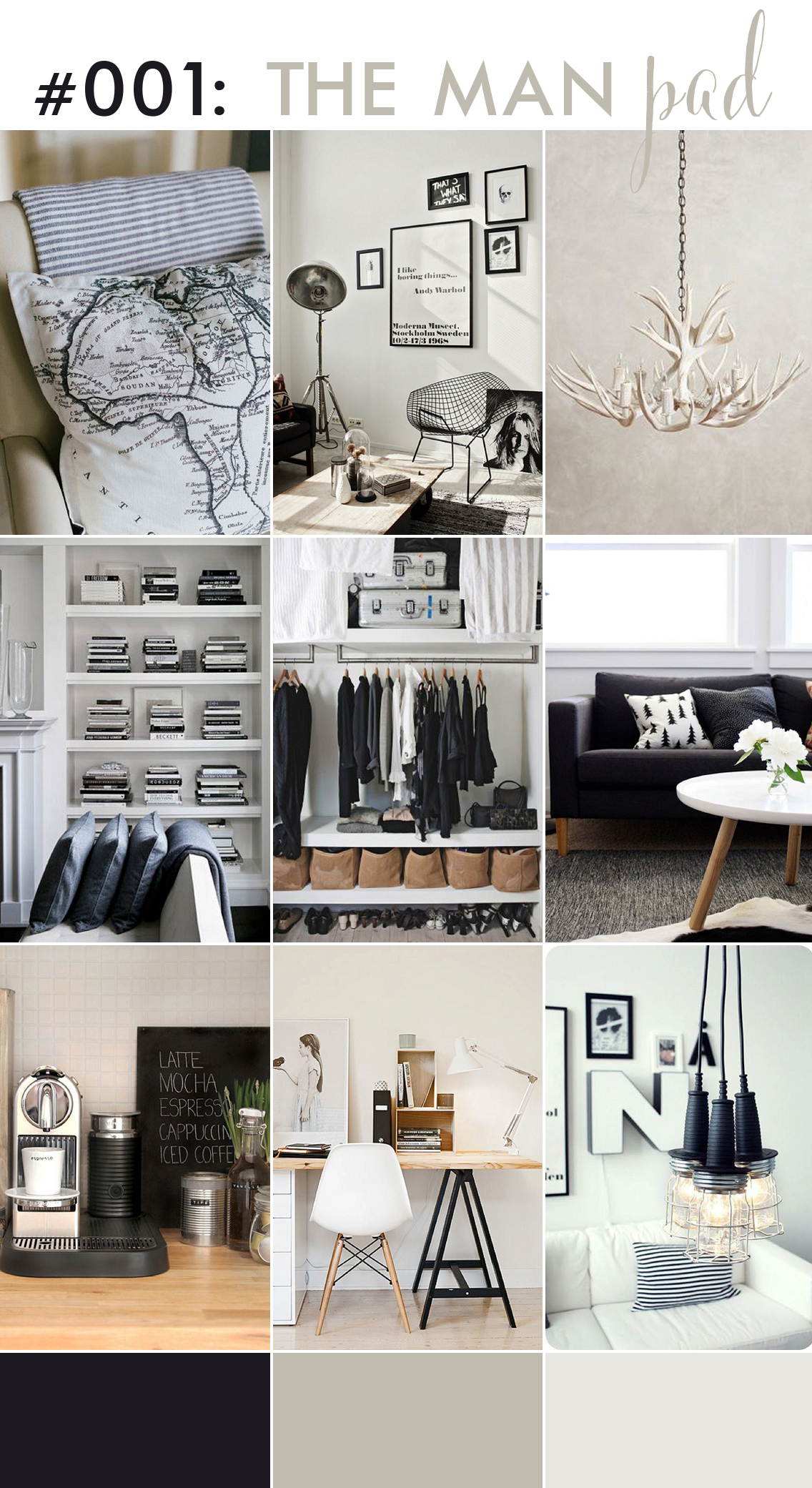 monochrome interior inspiration