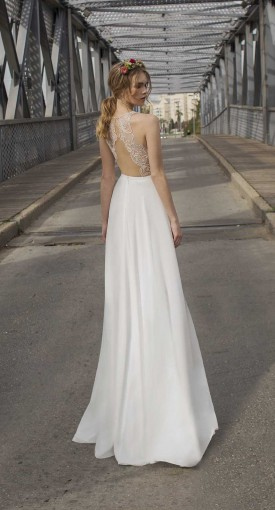 backless wedding dresses
