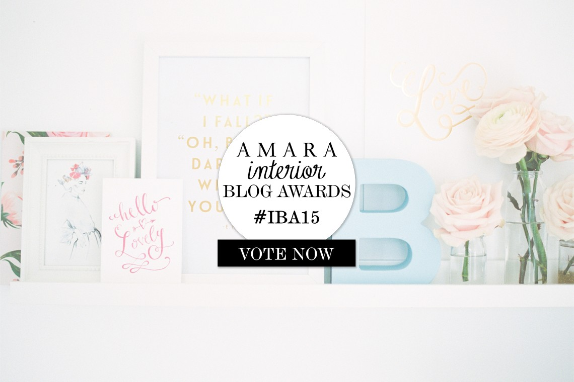 amara interior blog awards 2015 #IBA15