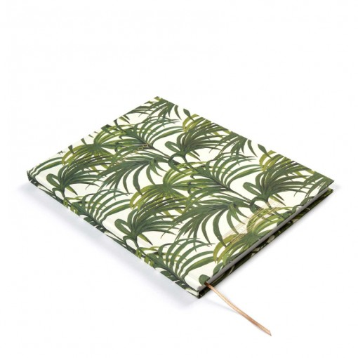 palm print notebook