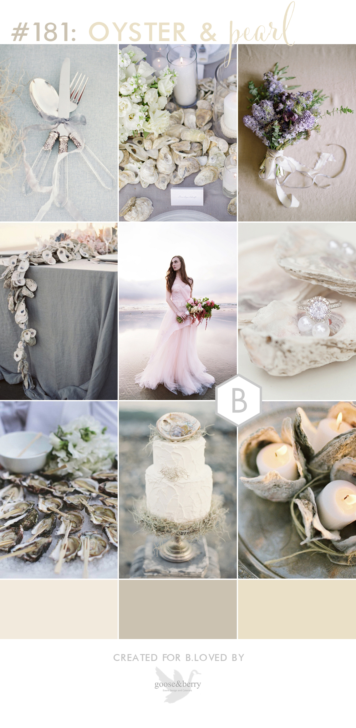 neutral beach wedding inspiration