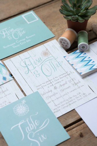 boho weddnig stationery
