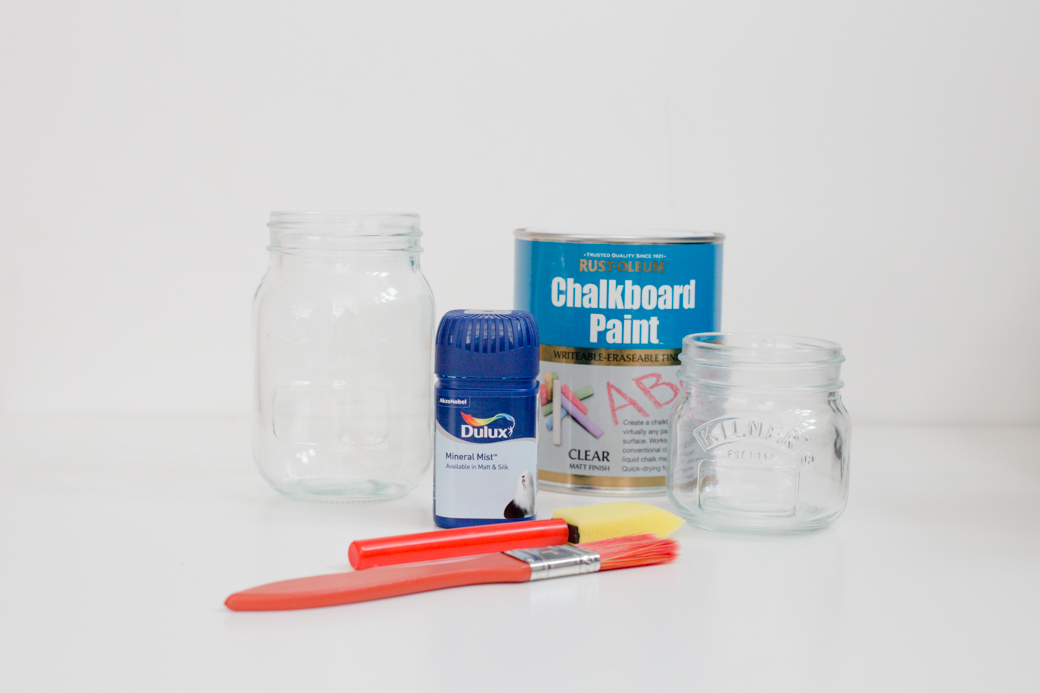 DIY Pastel Painted Mason Jar (2)