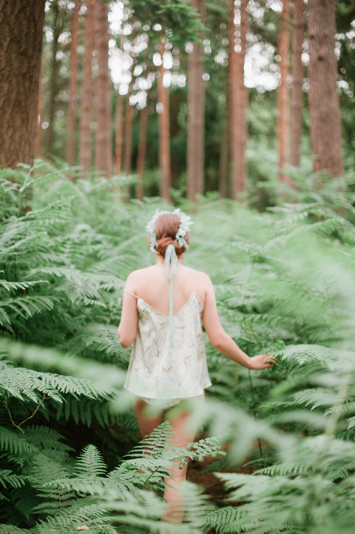 A Beautiful Botanical Boudoir Shoot Inspired By Mother Nature