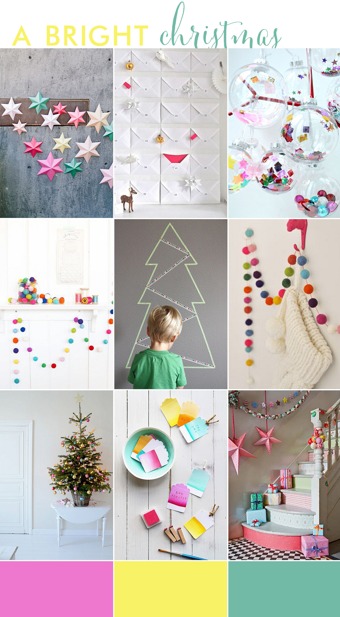 Bright Christmas Kids Decor