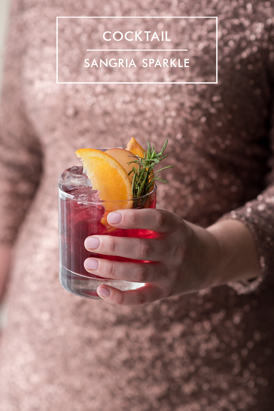 Contemporary Classic Christmas Cocktails - Sparkling Sangria (4A)