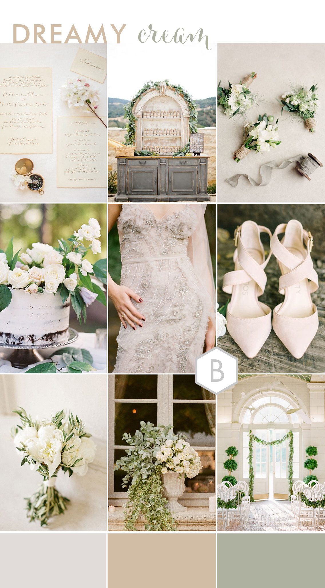 Dreamy Cream Wedding Inspiration (3)