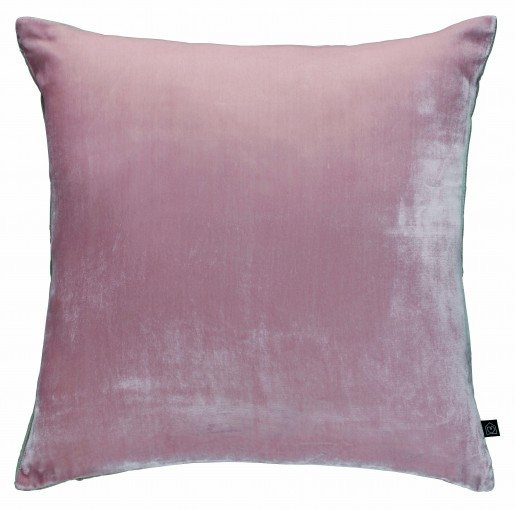 Habitat Spring Summer dusky sophisticated rose quartz pink velvet cushion