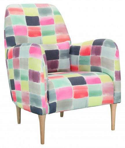 Habitat colourful Spring Summer armchair