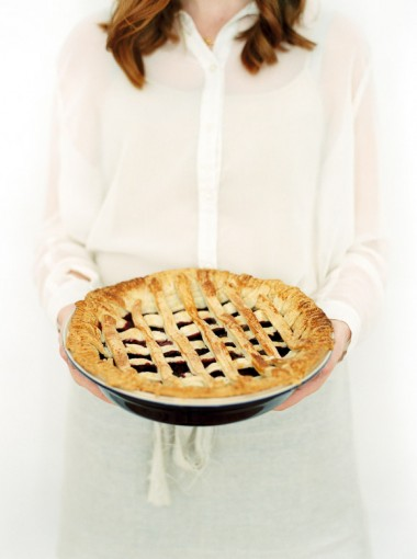 Imogen Xiana winter lifestyle shoot, with cherry lattice pie recipe, curated by Bloved blog