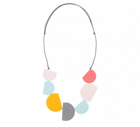 Oliver Bonas Semi Circular Necklace