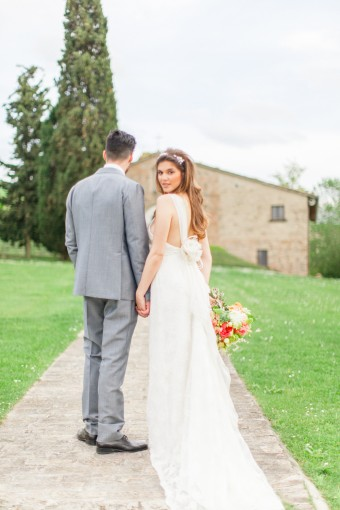 Italian destination wedding inspiration, photography by Roberta Facchini Photography, curated by wedding blog Bloved