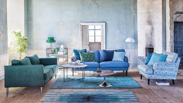 Images Of Living Room With Ikea Karlstad Sofa