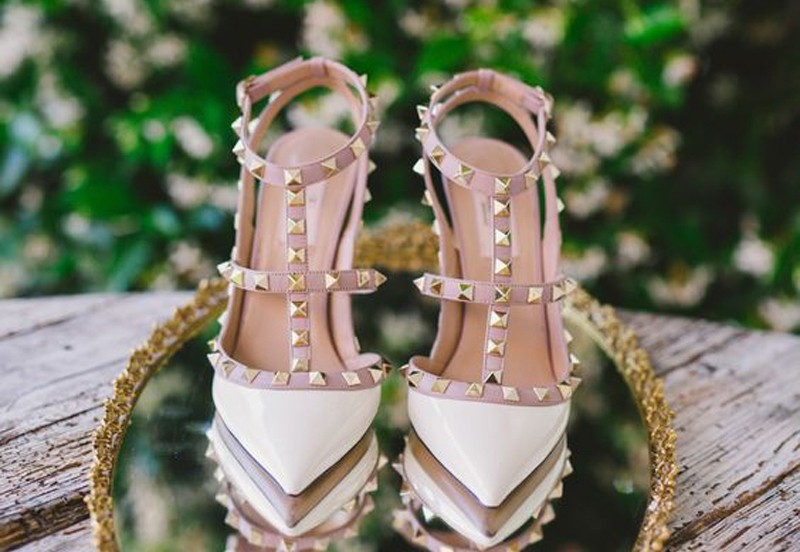 Wedding Shoes by Closer to Love Photography