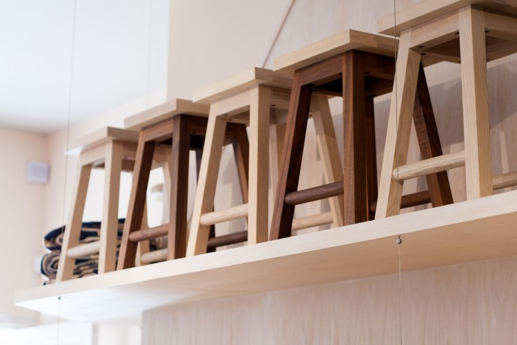 Another Country contemporary craft stools