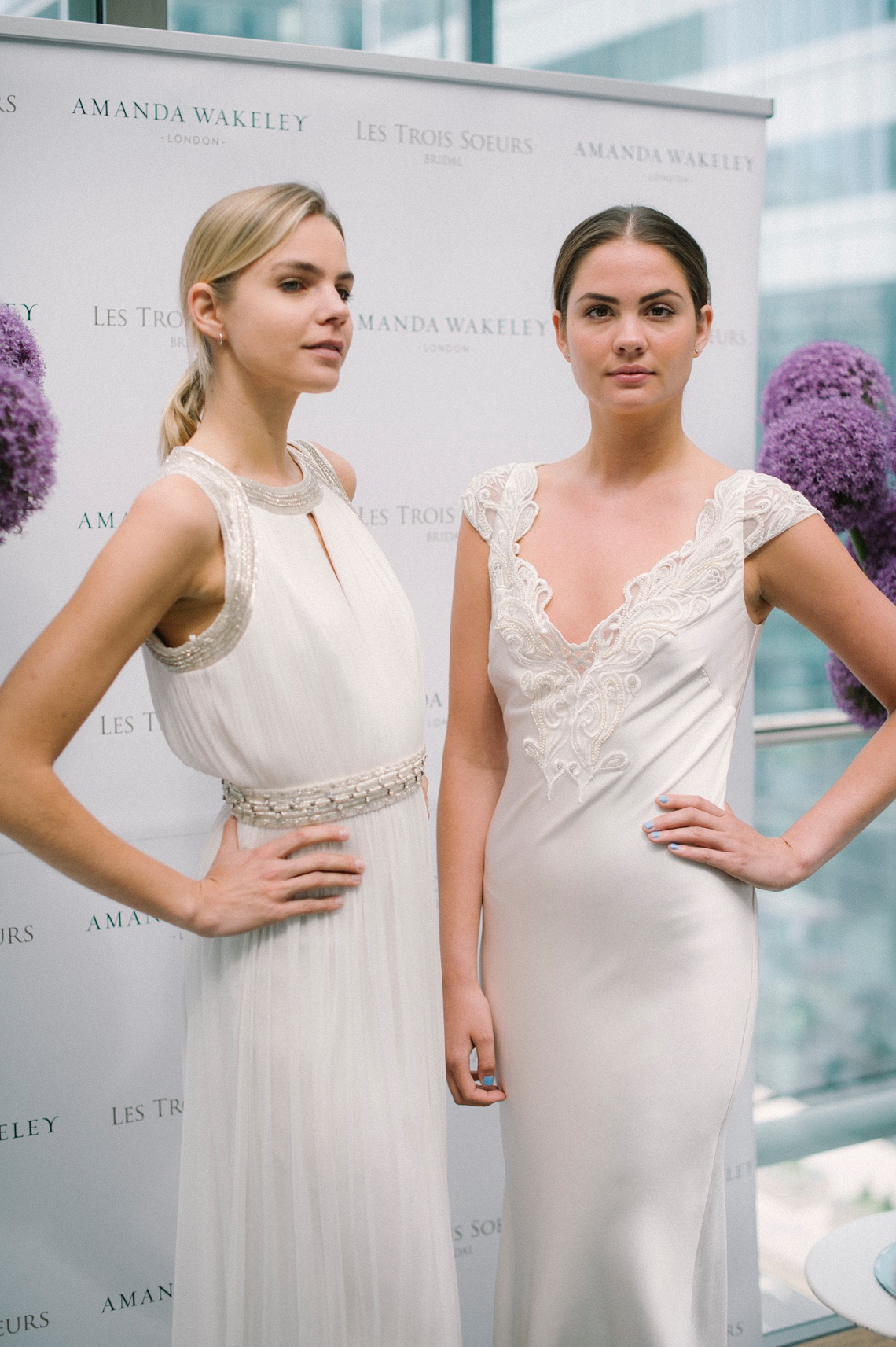 8e0ef1d2b2 We had the chance to speak to Amanda about her bridal brand and the new  collection at the event…