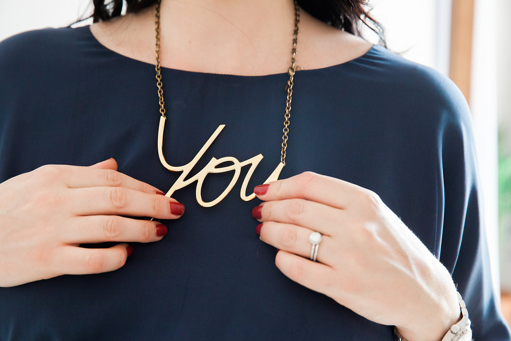 chic you gold necklace