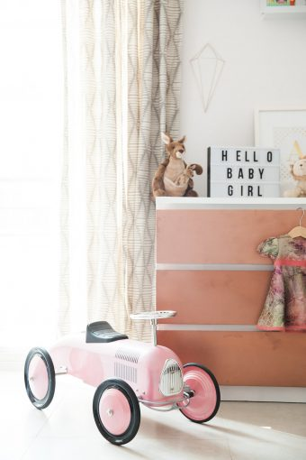 ikea hack diy copper drawers for nursery decor tour