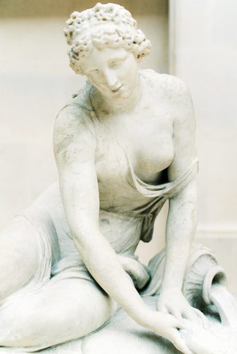 A statue within Paris