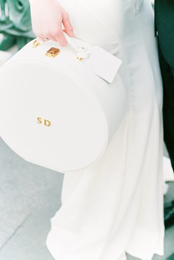Bridal luggage case