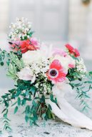 beautiful fine art style bouquet of flowers