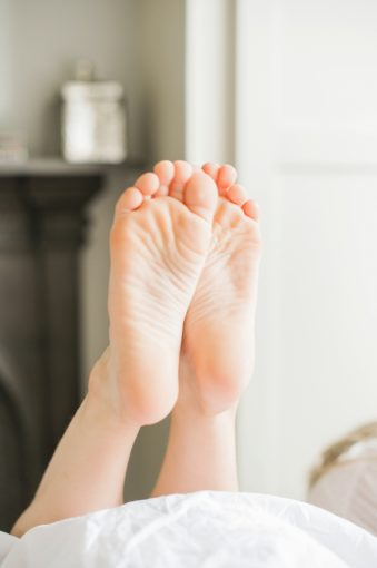 little feet and toes