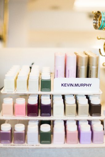 beauty products availalbe at blush and blow london salon