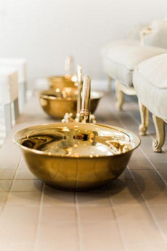 relax and unwind with a pedicure at the blush and blow salon
