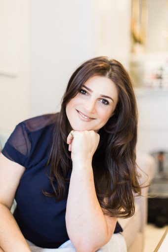 Portriat of makeup artist and founder of Blush and Blow Bridget O'Keeffe