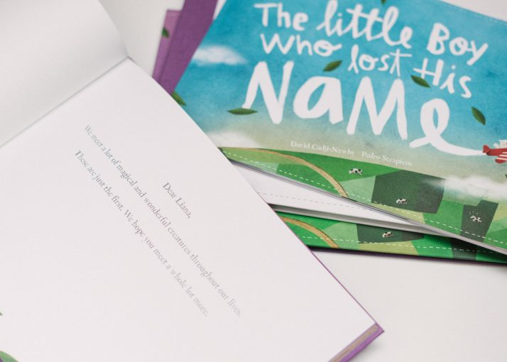 inside the Lost my name picture book pages