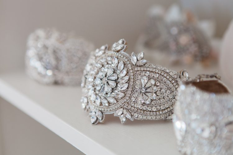 a crystal bridal accessory designed and created by Victoria