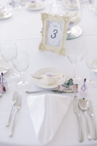 wedding table decor at Alexander the Great hotel cyprus