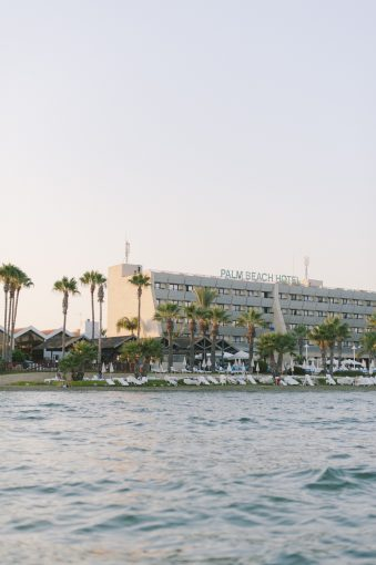 sea front and front of the The Palm Beach Hotel & Bungalows