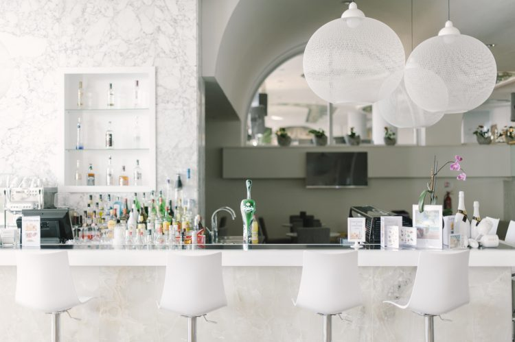 contemporary bar at The Palm Beach Hotel & Bungalows