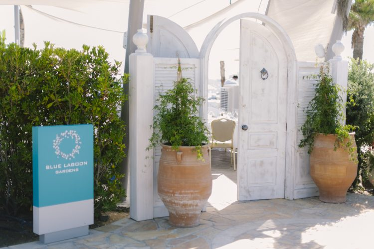 fantstic whitewashed luxe decor of the Olympic lagoon resort hotel