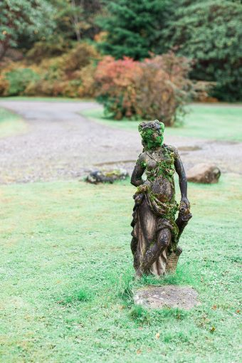 beautiful garden statue