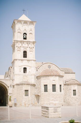 beautiful white sandstone church