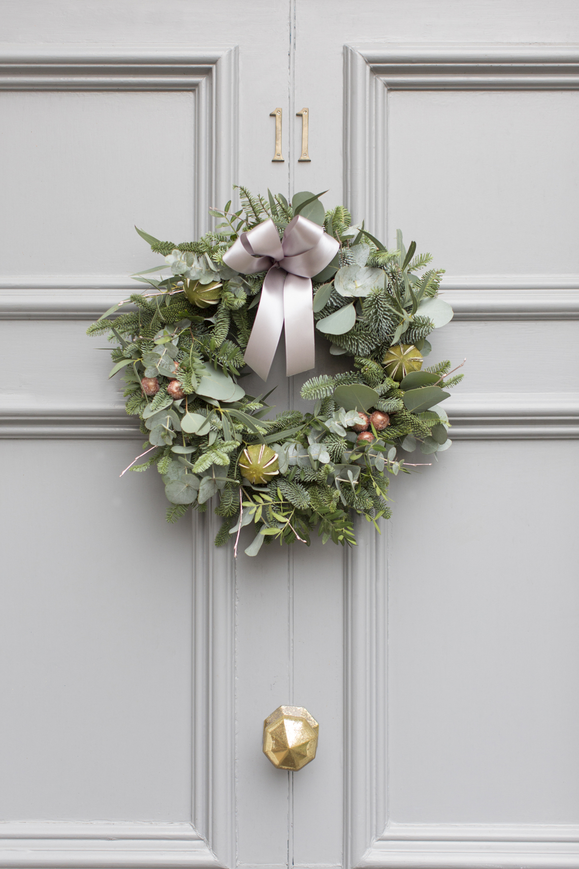 Lovely Christmas Wreath Diy By The Rose Shed Bloved Blog Wiring Lights In A First Secure Start Of Your Reel Wire To Frame Winding It Round Couple Times And Twisting Around One Copper Wires