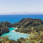 turquoise waters inland New Zealand