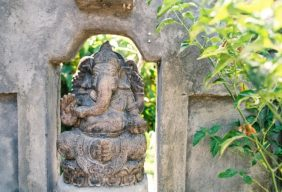 Temple architecture at Ubud Bali