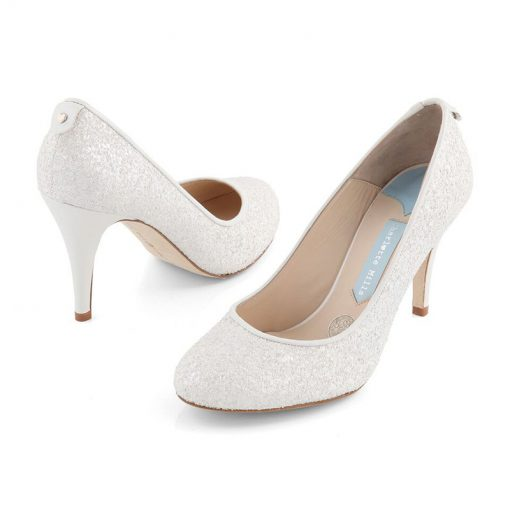 white court shoes for brides