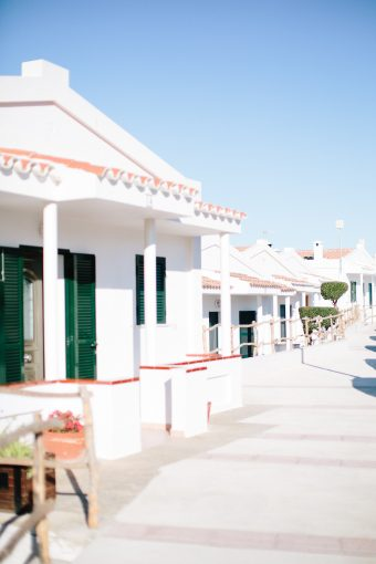 white holiday villas in Menorca