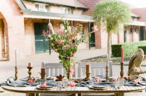 wild west inspired table setting