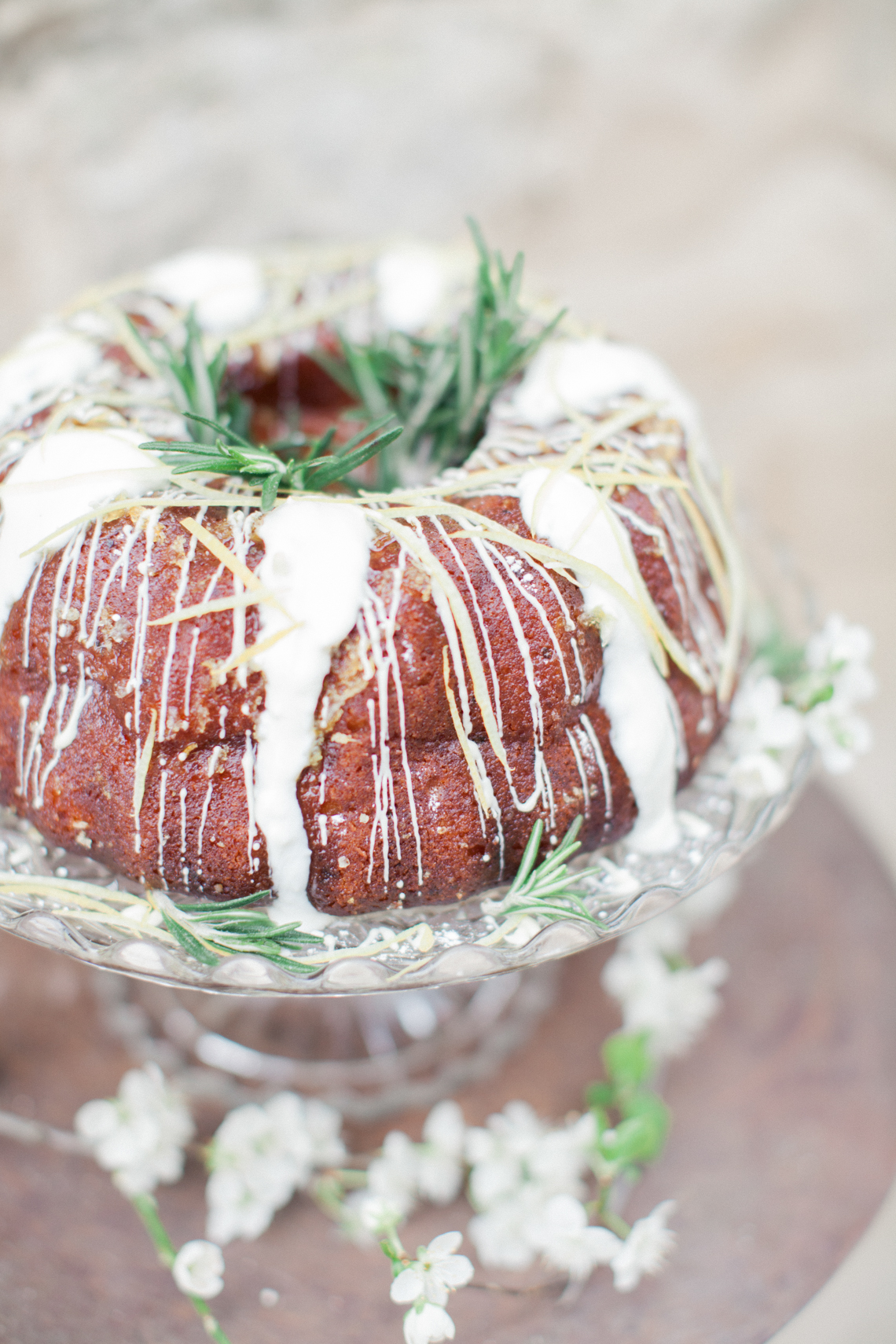 Recipe: Lemon, Rosemary and Greek Yoghurt Bundt Cake ...