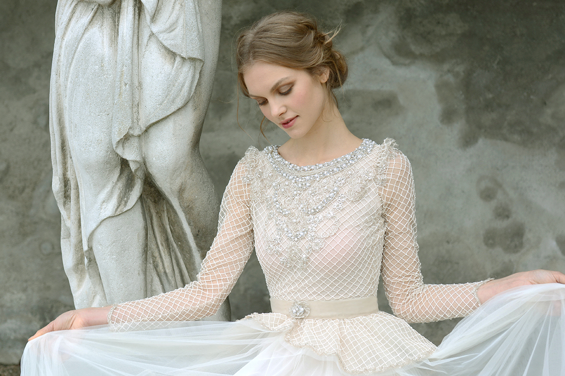 Reuma + Yoel: The Vine and Horizon Wedding Dress Collections ...