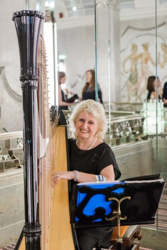 beautiful harp music playing for your wedding