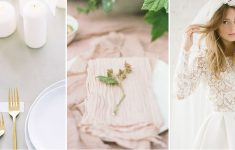 muted blush pink wedding ideas