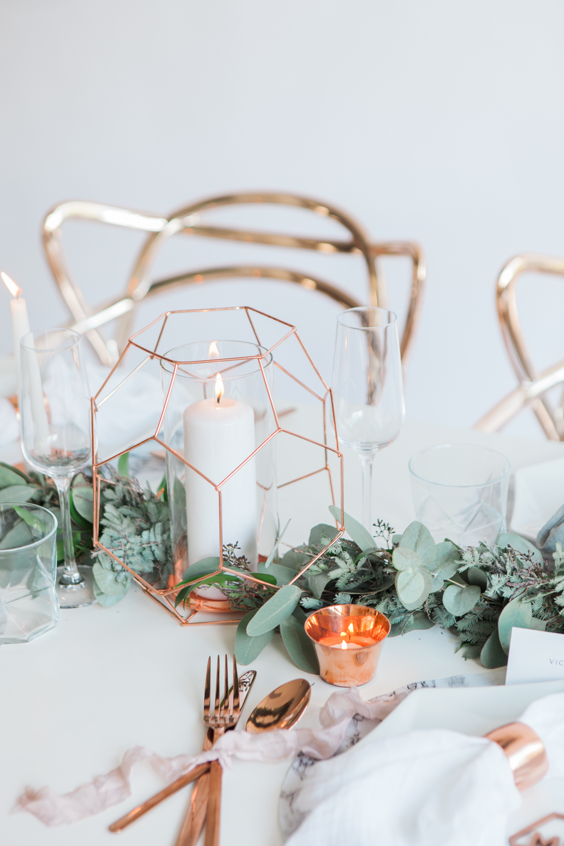 How to Work Copper into Your Wedding Decor! - BLOVED Blog